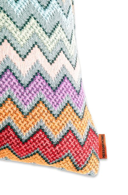 MISSONI HOME WILLIAM CUSHION Pink E - Front