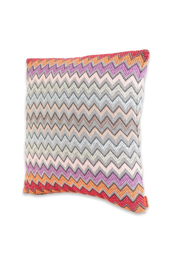 MISSONI HOME WILLIAM CUSHION E, Frontal view