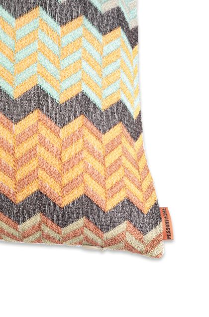 MISSONI HOME WAEL  CUSHION Light green E - Front