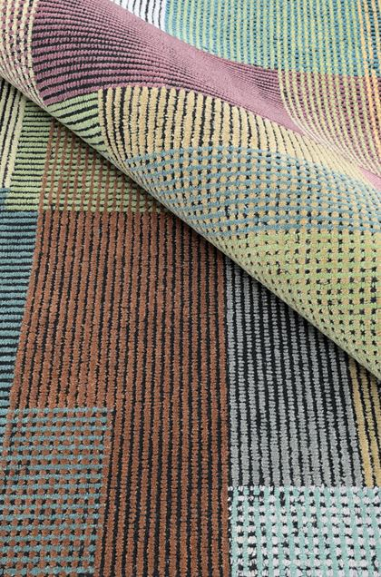 MISSONI HOME WISCONSIN КОВЕР Чёрный E - Передняя сторона