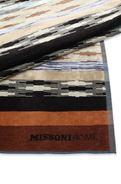 MISSONI HOME YWAN BEACH TOWEL Black E - Front