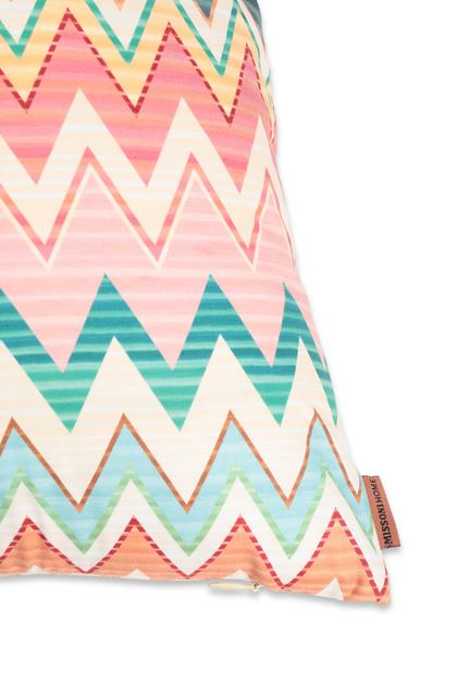 MISSONI HOME YVES CUSHION Pink E - Front