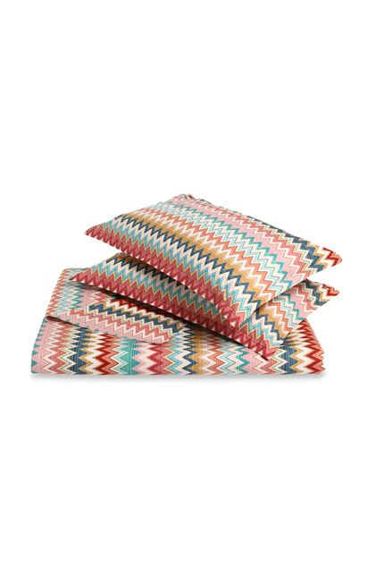 MISSONI HOME YVES DUVET COVER SET Red E - Back