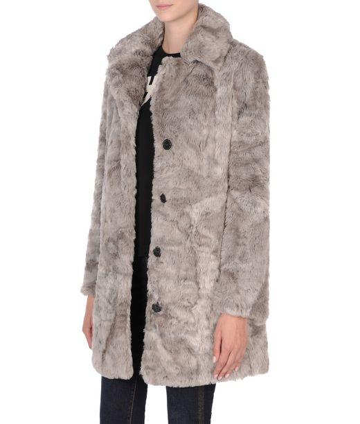 KARL LAGERFELD Soft Faux Fur Coat 12_f