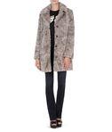 KARL LAGERFELD Soft Faux Fur Coat 8_d