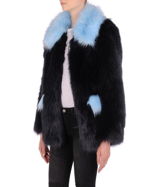 KARL LAGERFELD Faux fur coat 12_f