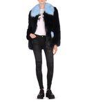 KARL LAGERFELD Faux fur coat 8_d