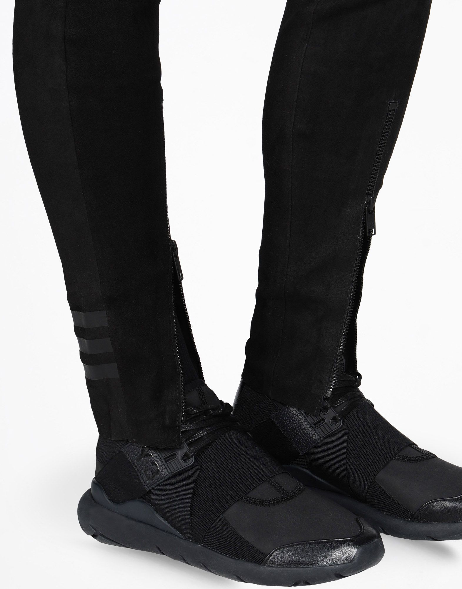 Y-3 LEATHER LEGGINGS PANTS woman Y-3 adidas