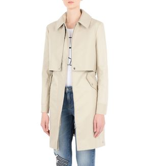 KARL LAGERFELD IKONIK BELTED TRENCH COAT