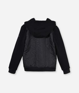 KARL LAGERFELD QUILTED CARDIGAN