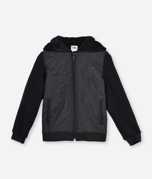KARL LAGERFELD QUILTED CARDIGAN  12_f