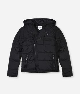 KARL LAGERFELD QUILTED DOWN JACKET