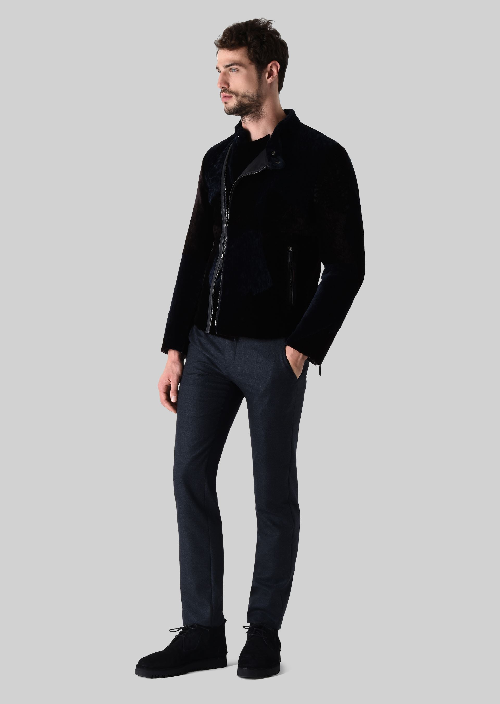 Affordable With Peau Laine Homme Veste Perfecto Homme Z8HqCw