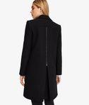 KARL LAGERFELD Masculine Coat W/ Metal Zips  8_d