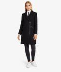 KARL LAGERFELD Masculine Coat W/ Metal Zips  8_e