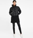 Bouclé Quilted Down Coat