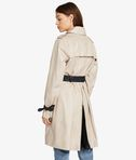 KARL LAGERFELD Ikonik Trench Coat with Mesh 8_d