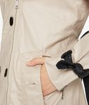 KARL LAGERFELD Ikonik Trench Coat with Mesh 8_e