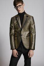 DSQUARED2 Jacquard Gold Lamé Tokyo Blazer JACKET/BLAZER Man