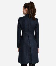 KARL LAGERFELD Mélange Wool Coat 9_f