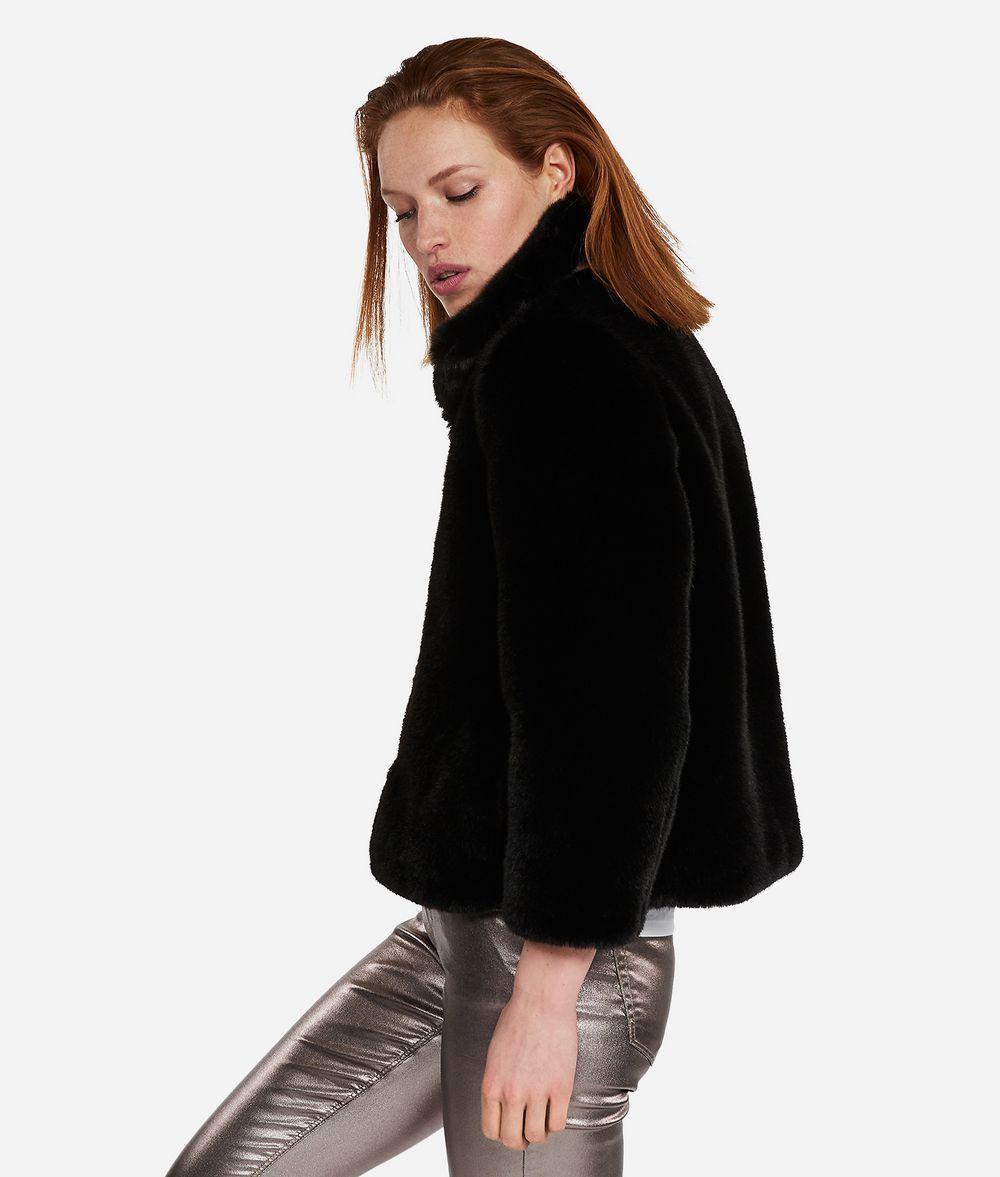 KARL LAGERFELD Faux Fur Jacket Outerwear Woman d