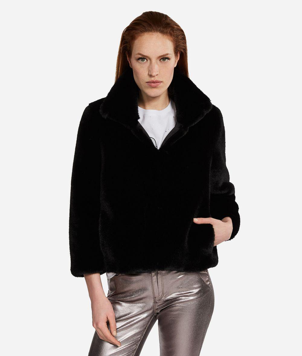 competitive price 7d72d 36942 Giacca In Pelliccia Sintetica | Collezioni Karl Lagerfeld ...