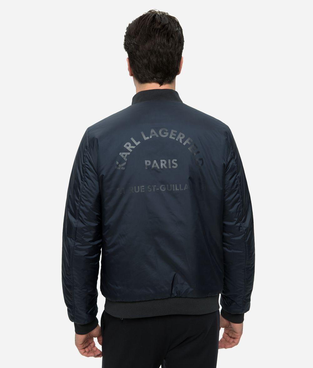 KARL LAGERFELD REVERSIBLE BOMBER JACKET  Jacket Man d