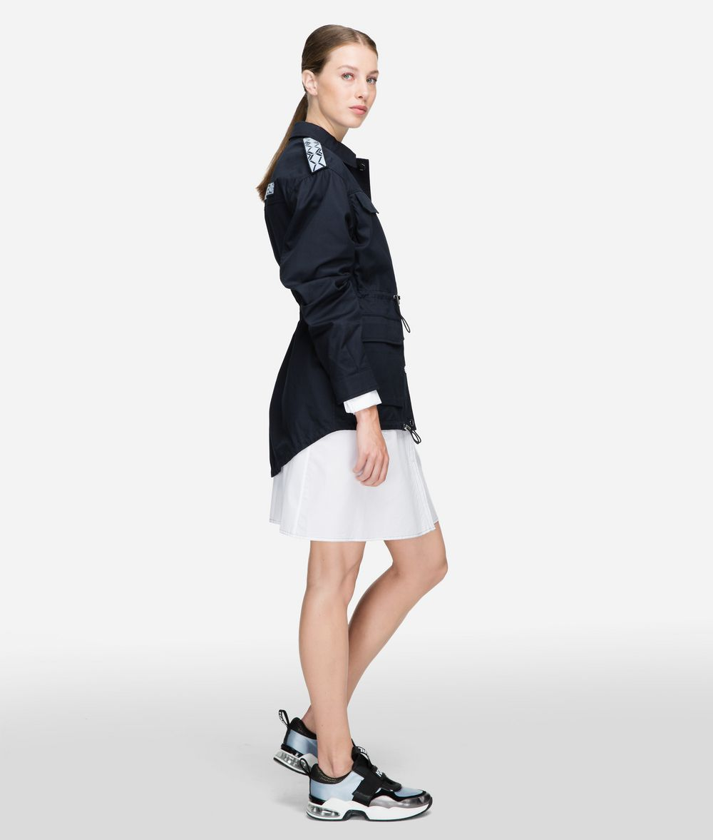 KARL LAGERFELD Safari Jacket Outerwear Woman d