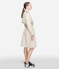 KARL LAGERFELD Eyelet Trench Coat Woman e