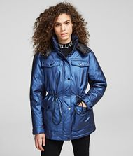 KARL LAGERFELD Coat Woman Technical Down Jacket f