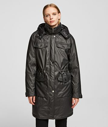 KARL LAGERFELD TECHNICAL DOWN COAT