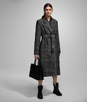 KARL LAGERFELD TAILORED CHECK COAT