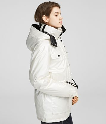 KARL LAGERFELD TECHNICAL DOWN JACKET