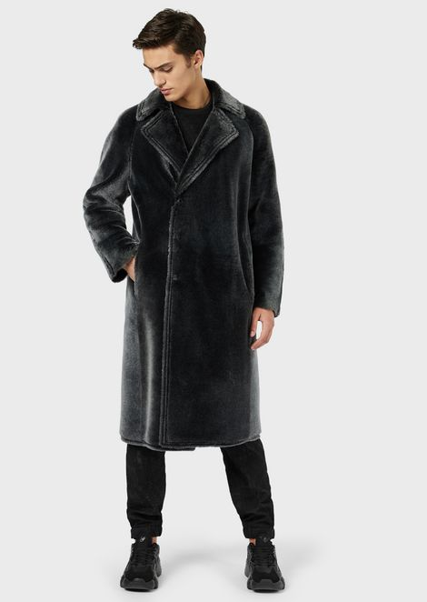 Manteau en peau de mouton mérinos brisa