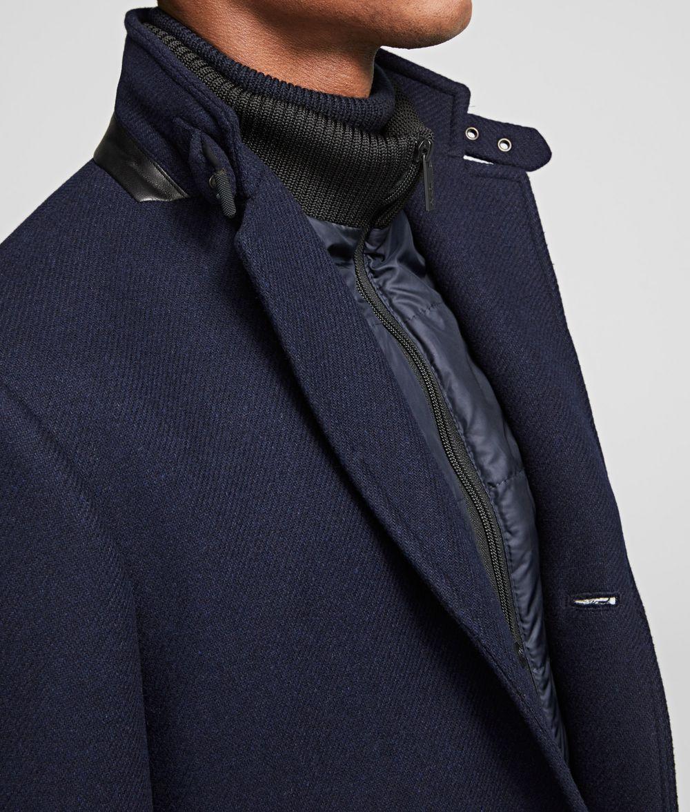 KARL LAGERFELD CLASSIC COAT Coat Man d