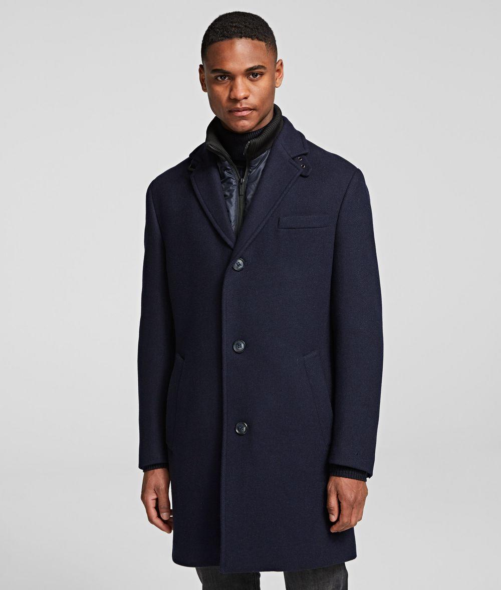KARL LAGERFELD CLASSIC COAT Coat Man f
