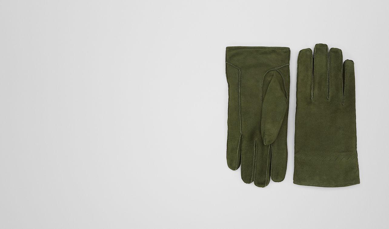 forest suede glove landing