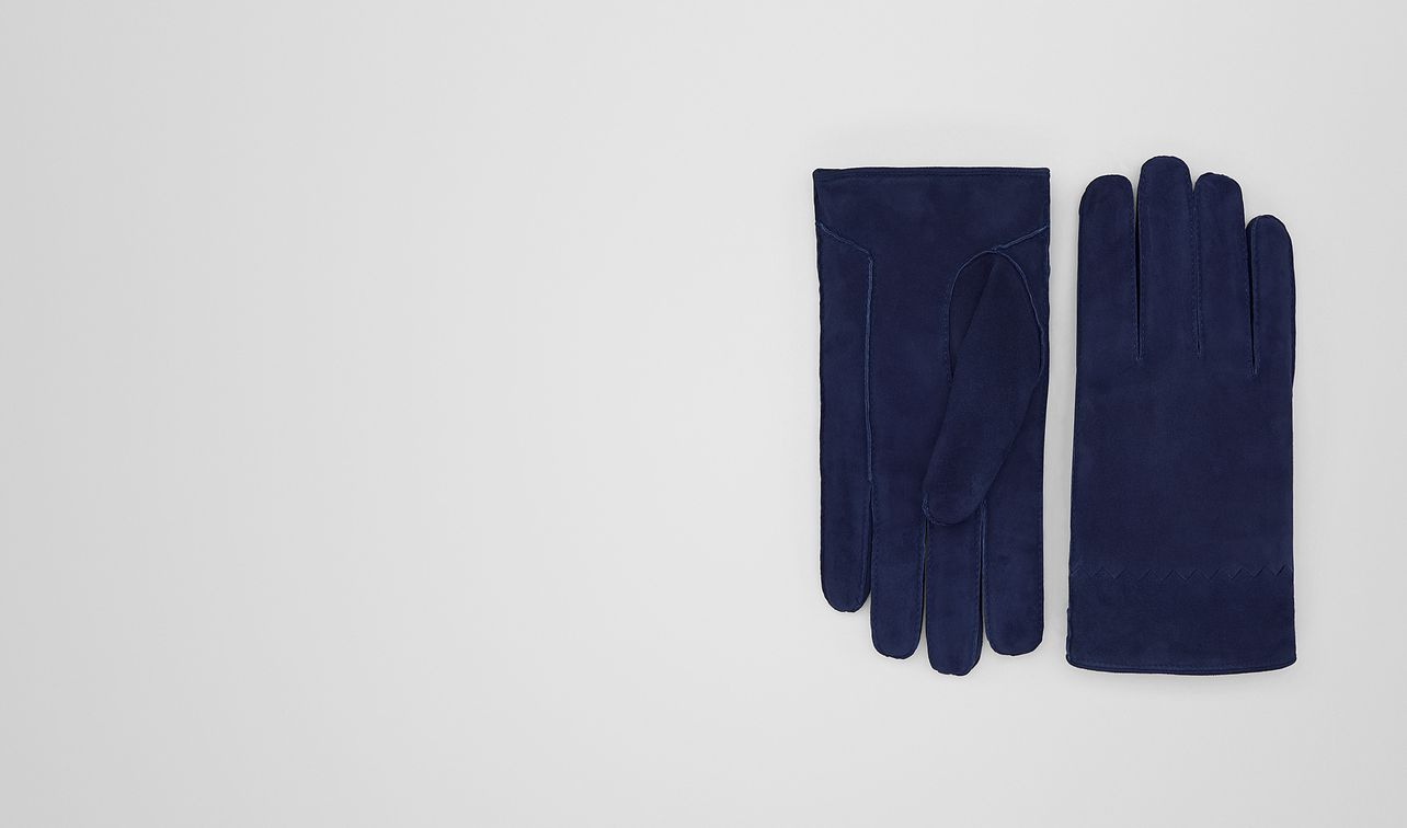 dark atlantic suede glove landing