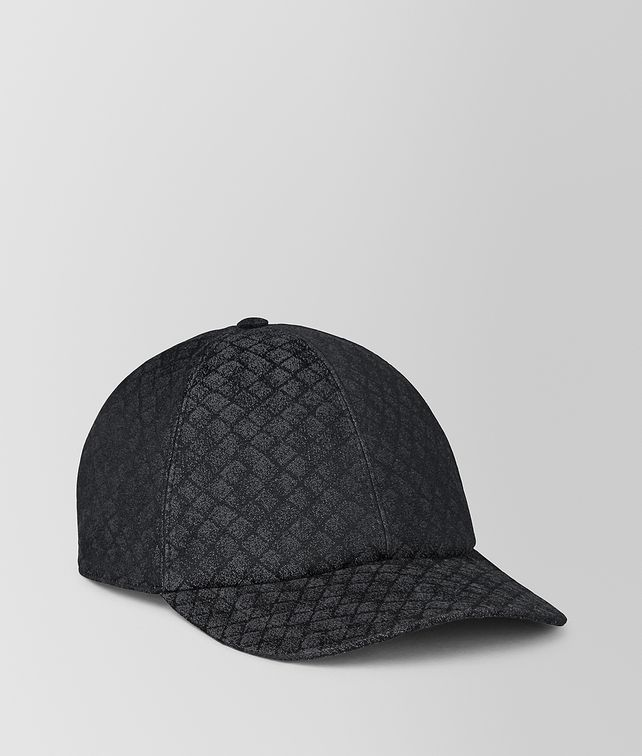 BOTTEGA VENETA NERO COTTON HAT Hat or gloves [*** pickupInStoreShippingNotGuaranteed_info ***] fp