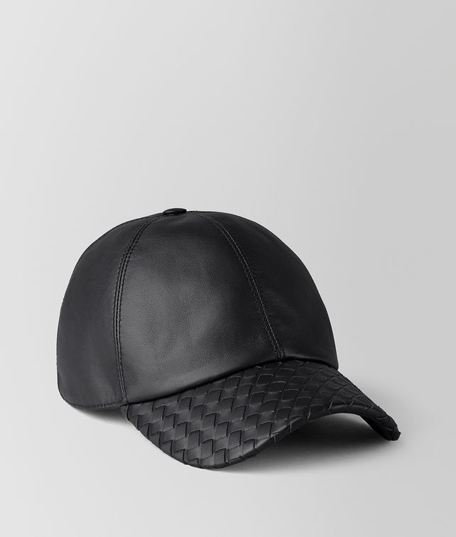 BOTTEGA VENETA NERO NAPPA HAT Hat or gloves Man fp