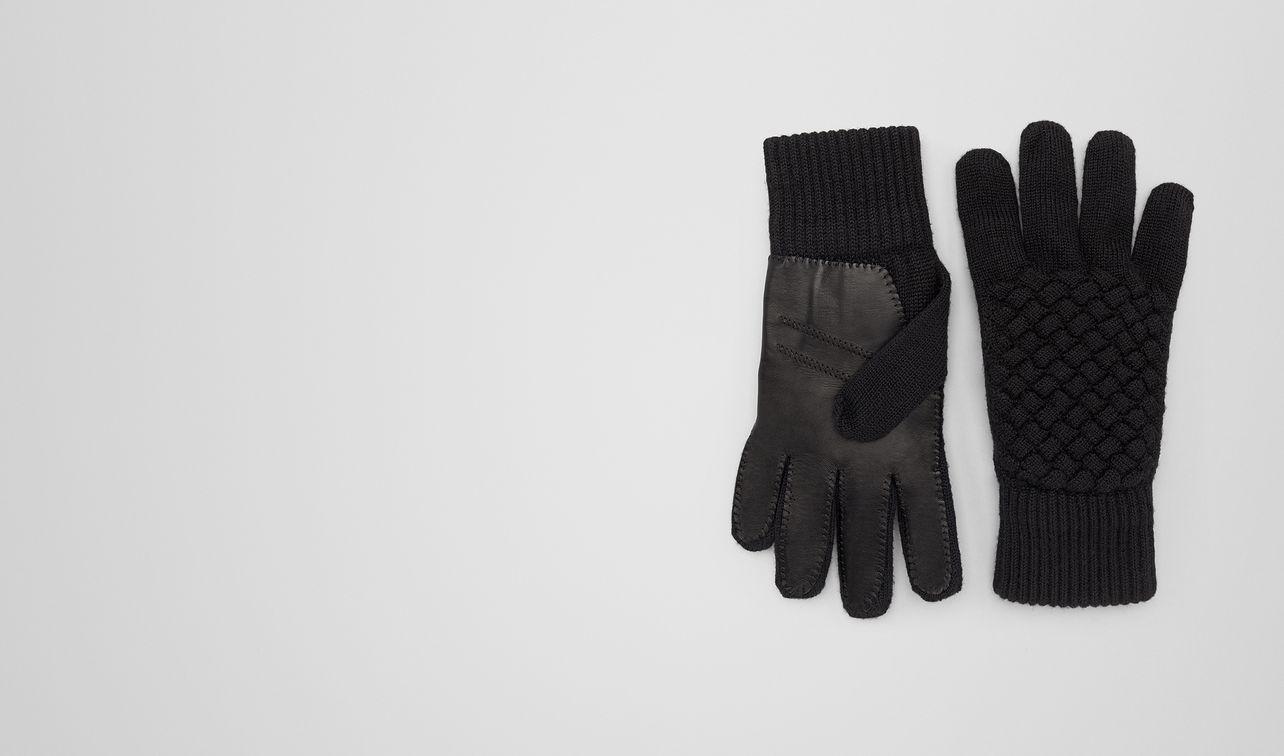 nero wool/leather glove landing
