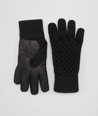 黑色羊毛/NAPPA小羊皮手套