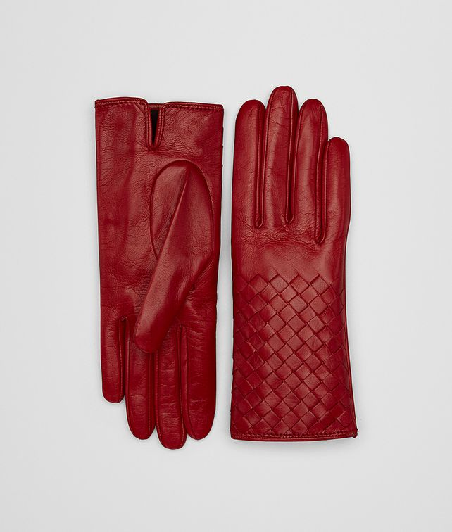 BOTTEGA VENETA BACCARA ROSE NAPPA GLOVES Hat or gloves [*** pickupInStoreShipping_info ***] fp