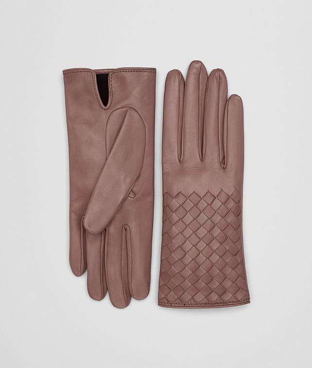 BOTTEGA VENETA DECO ROSE NAPPA GLOVES Hat or gloves [*** pickupInStoreShipping_info ***] fp