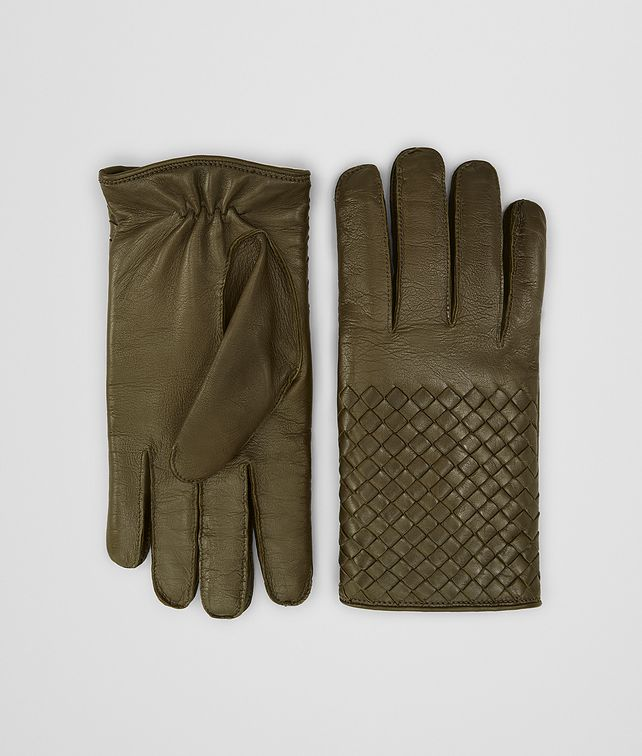 BOTTEGA VENETA GLOVES IN NAPPA Scarves, Gloves & Others Man fp