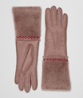 GLOVES IN SHEARLING AND NAPPA