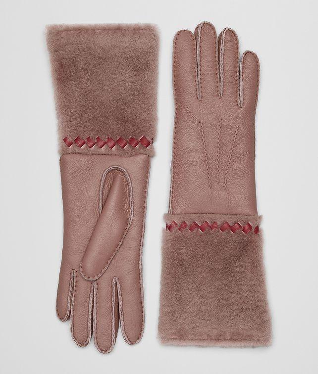 BOTTEGA VENETA HANDSCHUHE AUS SHEARLING UND NAPPA  Hut & Handschuhe [*** pickupInStoreShipping_info ***] fp