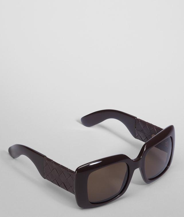 BOTTEGA VENETA Acetate Leather Eyewear BV 1000/S Sunglasses D fp