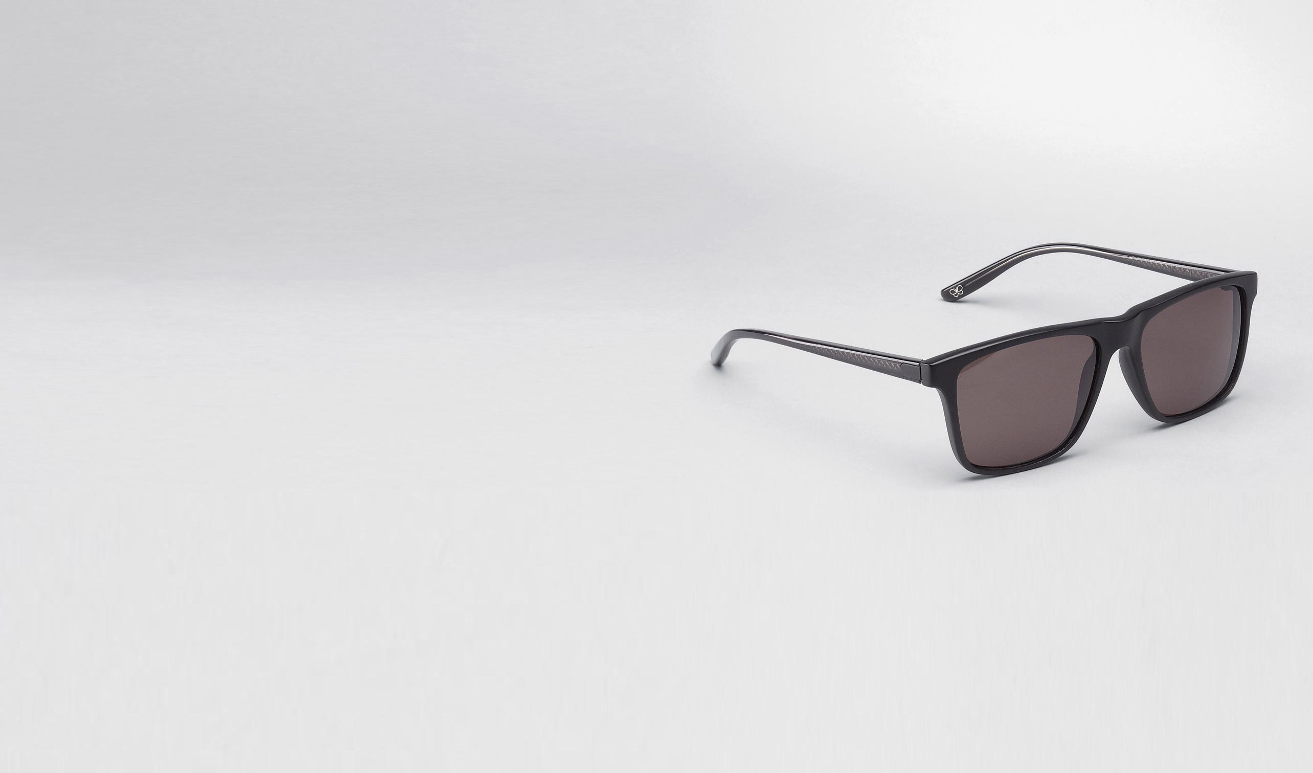 BOTTEGA VENETA Sunglasses E Matte Black Blue Acetate Eyewear BV 249 pl