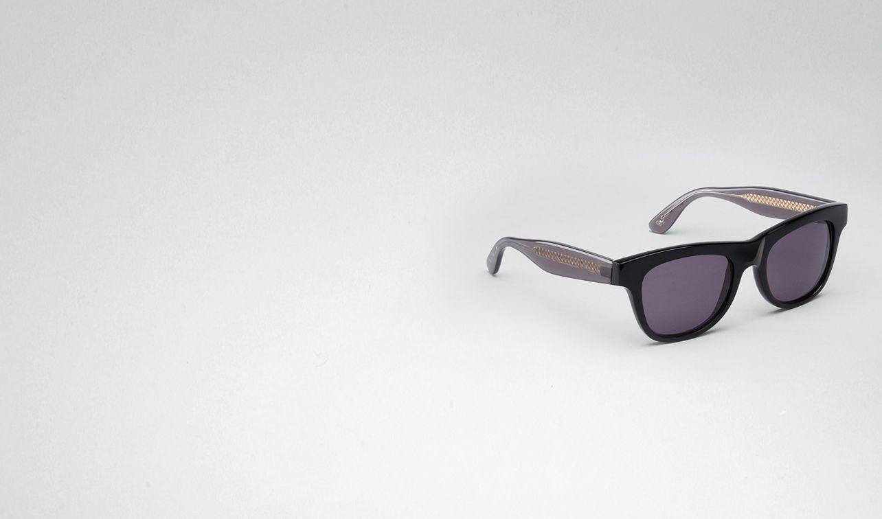 BOTTEGA VENETA Sunglasses E Black Grey Acetate Eyewear BV 248 pl